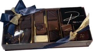 Ballotin de chocolat noir et lait